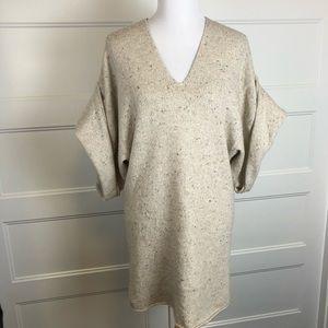 BCBGMaxazria Runway Wool Blend Sweater Dress